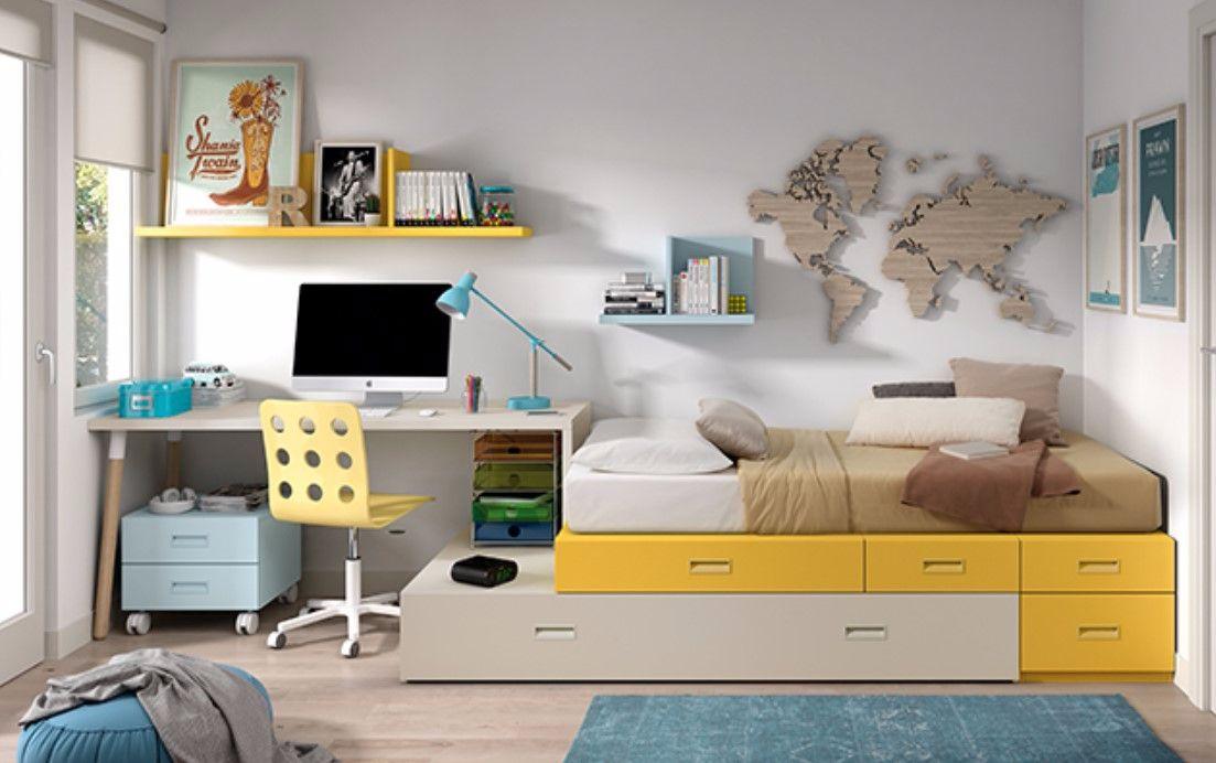 Habitaci n juvenil camas blocs muebles reformas y Ver habitaciones juveniles