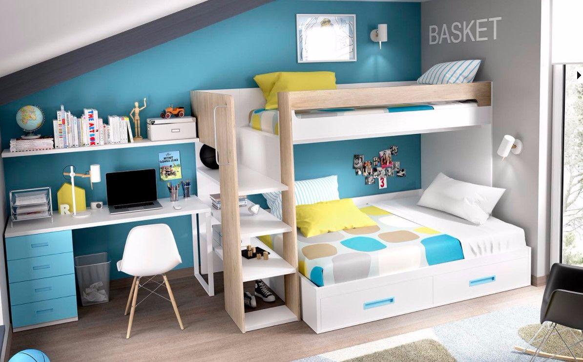 Mobiliario cunas y habitaciones juveniles habitaci n for Mobiliario habitacion juvenil