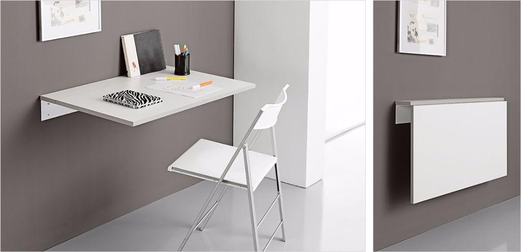 Mobiliario - Mesas de Cocina - Mesa DANA laminado pared - Muebles ...