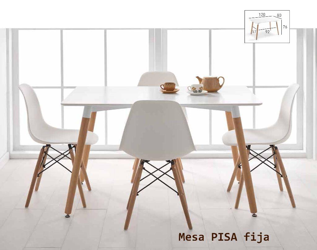Productos - Cocinas - Mesa mod. CAPRI y mod. PISA fijas - Muebles ...